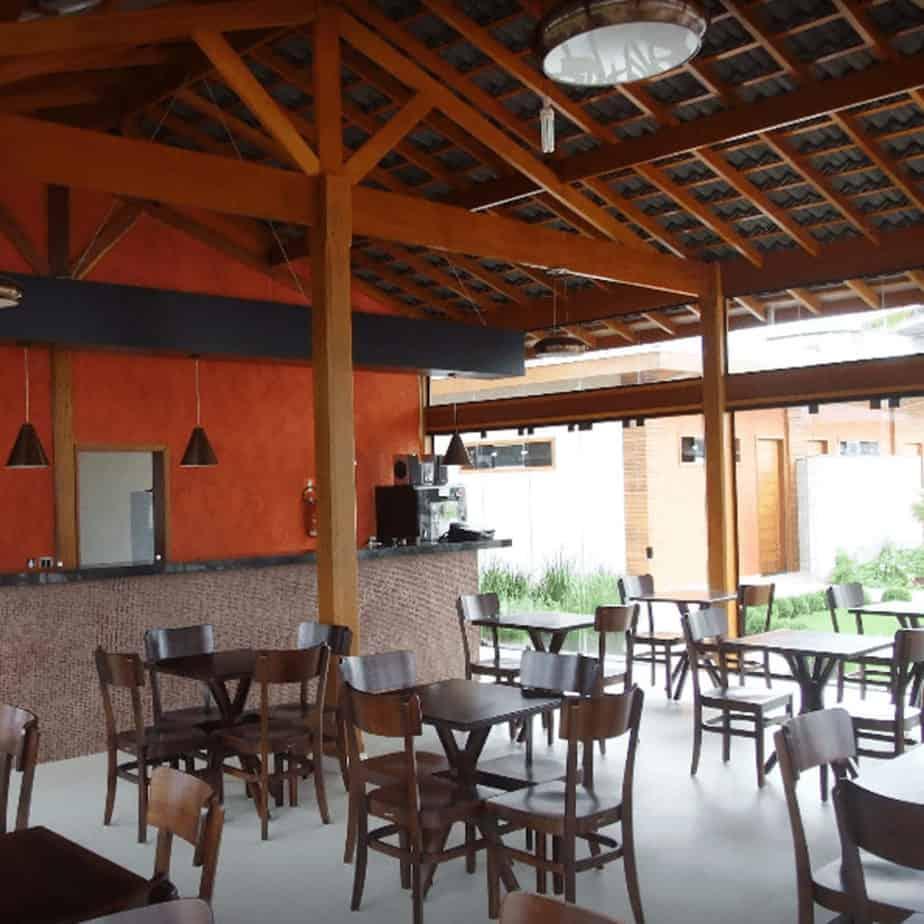 Interior do Imperial Bar e Restaurante