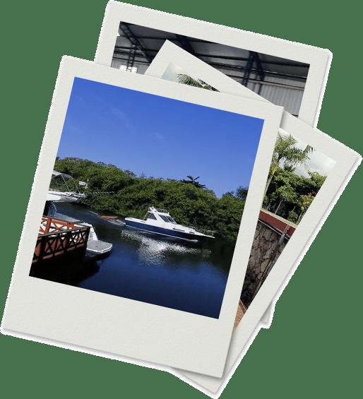 Fotos da Marina Imperial na Polaroid