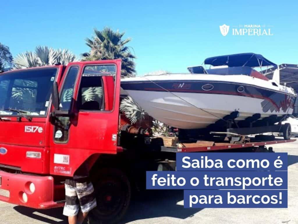 Transporte para barcos