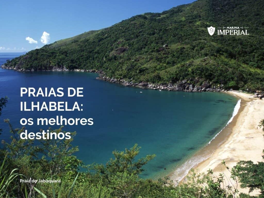 Praias de Ilhabela - Praia do Jabaquara
